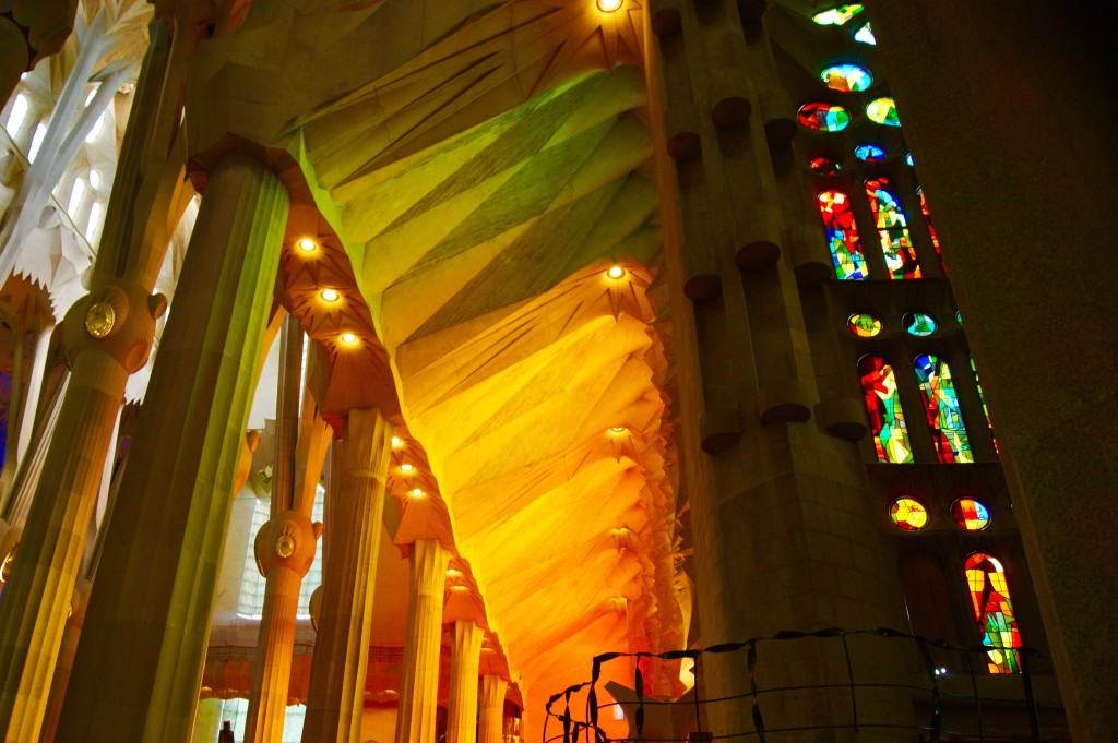Sagrada Windows Yellow Green